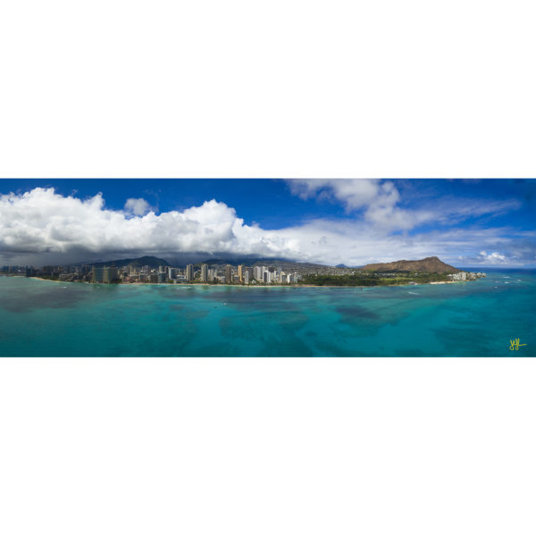 Waikiki From Offshore